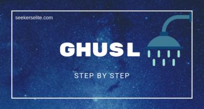 Ghusl Steps