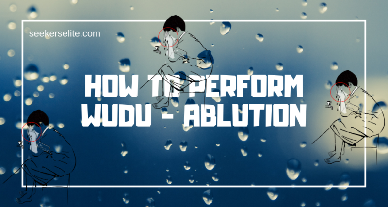 how to perform ablution wudu