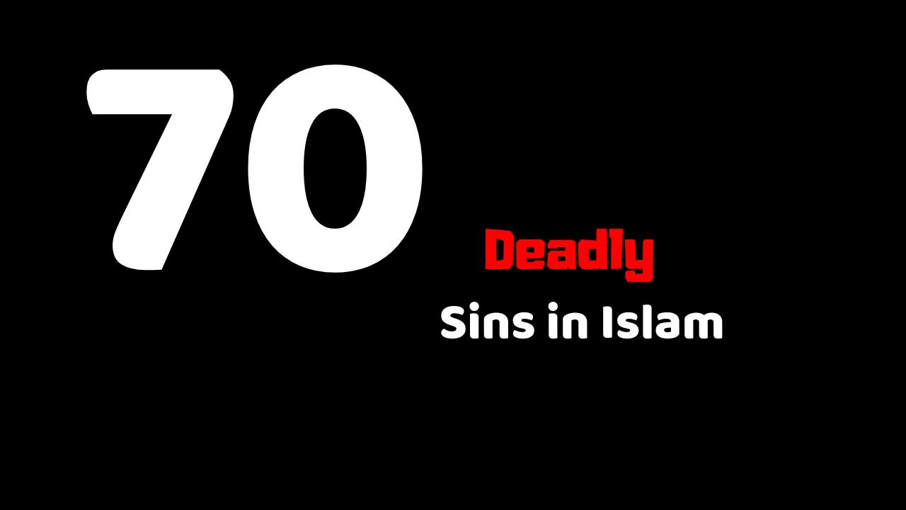 70 sins in Islam